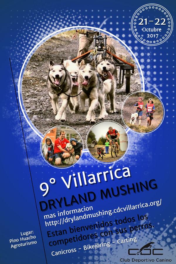 9° Villarrica Dryland Mushing 21.-22.10.2017